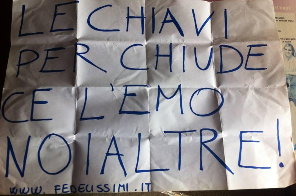 Cartello Chiusura Etoile54